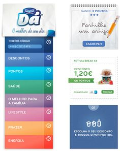 Danone Portuguese Website by Hugo Miguel Sousa, via Behance #webdesign #inspiration #danone