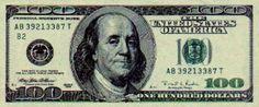 100 dolarów - awers