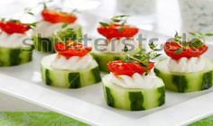veggies that look like sushi! perfect replacement for the obvious sushi appetizer for my Japanese inspired wedding!