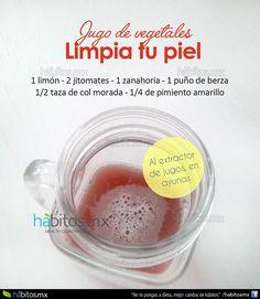 Hábitos Health Coaching | JUGO DE VEGETALES LIMPIA TU PIEL