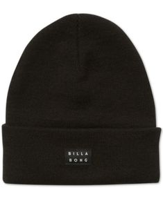 c1990c53723 Billabong Men s Disaster Beanie - Black Hats For Men