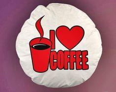 ALMOFADA REDONDA I LOVE COFFEE - 94008