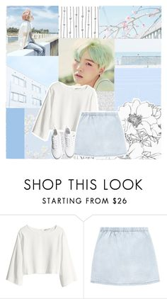 """""""With you I'm a beautiful mess."""" by hitthisfeeling ❤ liked on Polyvore featuring H&M"""