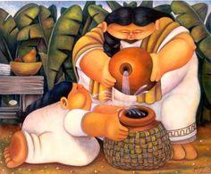 miradadebruja: Alberto Godoy, los colores de la nostalgia