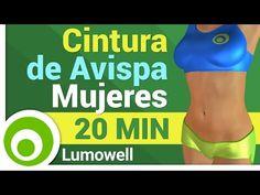 Glúteos Redondos, Cintura de Avispa y Vientre Plano - YouTube