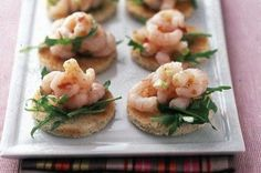 Chilli prawn toasts - 50 quick and easy canapes