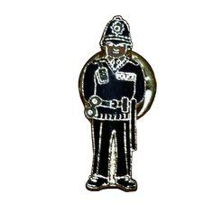 British London Bobby Decorative Lapel Pin Souvenir
