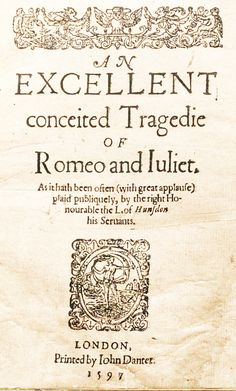 Romeo and Juliet.