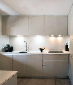 Gstaad, Switzerland by Ardesia Design #joinery #kitchen #chalet #grey #wooden #interior