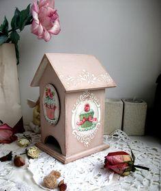 """Купить Чайный домик """"Французский завтрак"""""""" - кремовый, чайный домик, капучино, пирожное, винтажный стиль"""
