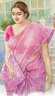 Ravivarma Paintings, Indian Art Paintings, Watercolor Landscape Paintings, Sexy Painting, Woman Painting, Indian Drawing, Indian Artist, Pictures To Draw, Beautiful Paintings