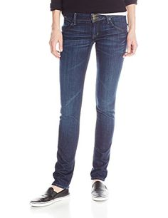 dcc2e490682f35 Hudson Women's Nico Midrise Skinny Jean In Stella: The Nico is an all-time  favorite skinny, with a slim fit from waist to ankle and a mid-rise for  extra ...