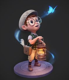 Cartoon Drawings model boy cartoon character - Character designs involve a lot of creativity and at the same should be appealing to the viewers. These character designs play a vital role in games, animation movies and they are the deciding Baby Cartoon Drawing, Cute Cartoon Boy, Cute Cartoon Pictures, Cartoon Drawings, 3d Cartoon, Zbrush, Boy Character, Character Modeling, 3d Model Character