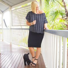 Hunt + Kelly top and skirt