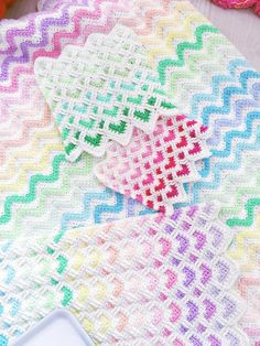 Made to Order, Crochet rainbow blanket, crochet rainbow, crochet chevron, crochet afghan, crochet throw , pastel rainbow, Made to order