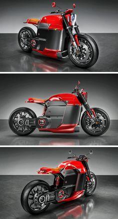 TESLA M MOTORCYCLE CONCEPT