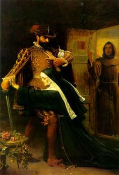 St. Bartholemew's Day - Millais John Everett Style: Romanticism Genre: history painting Media: oil, canvas