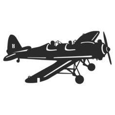 Флюгер на кровлю Самолет