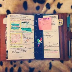 """""""#filofax I like the inclusion of doodles and lack of lines."""