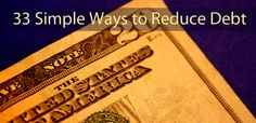 33 Proven Ways to Reduce Personal Debt