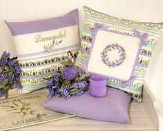Zauberhafte Lavendelkissen ... Stickdesign: Gerlinde Gebert Shop: www.gebert-handarbeiten.de
