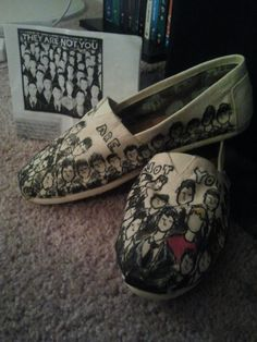 Peyton Sawyer TOMS  I so want these!!! Maybe for Mother's Day!:) That would take my One Tree Hill obsession to a whole new level...