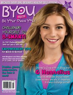G Hannelius Looks Amazing Covering BYOU Magazine's Back-To-School Issue   China Anne McClain