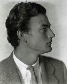 John Wayne (1929) what a handsome beast