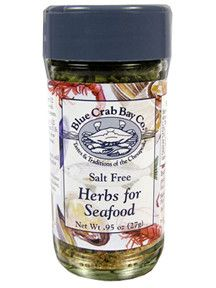 Herbs for Seafood by Blue Crab Bay Co