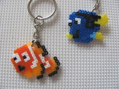 Nemo and Dory bead sprite by TOPGUN4 on DeviantArt