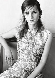 Emma Watson photographed by Josh Olins for Vogue UK, September 2015