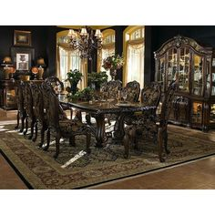 2014 newest Antique wood dining room furniture - from Alibaba.com