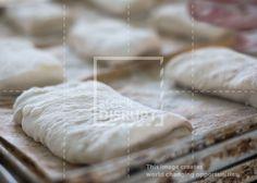 Ciabatta bread roll dough. by Stock Disrupt - Microstock that Matters.