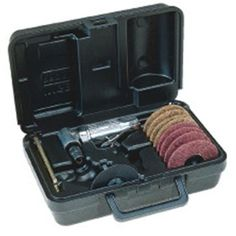 Ingersoll Rand Co 3' Angle Die Grinder Kit 301B3MK, As Shown