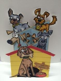 In the Doghouse by DancinFeet - Cards and Paper Crafts at Splitcoaststampers