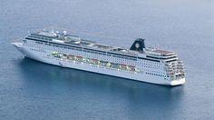 #MSCArmonia : l'un des plus petits navires de la flotte #MSCCroisières. Le majestueux MSC Armonia reflète l'élégance du style italien et accueille 3 000 passagers à son bord, ce qui le rend idéal pour une croisière en famille.
