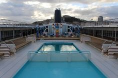 MSC Sinfonia: un restyling coi fiocchi Deck, Outdoor Decor, Holiday, Vacations, Holidays, Decor, Decks, Vacation