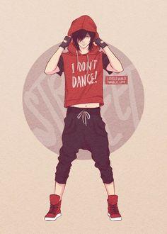 He dont like Dance
