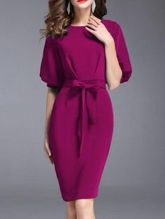 Product Description Thickness regular style Western Material blend Collar&Neckline crew neck Sleeve short sleeve Pattern Type plain Length knee-length Occasion Daily,date Dress Silhouette sheath Package Included Buy Crew Neck Plain Bodycon Dress o Tight Dresses, Cheap Dresses, Elegant Dresses, Beautiful Dresses, Discount Dresses, Dresses Dresses, Trendy Dresses, Long Dresses, Evening Dresses