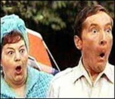 """Carry On Camping """"Matron, take them away! Round Sunglasses, Mens Sunglasses, Butlins, Vito, Watch One, Happy Pills, I Movie, Carry On, Actors & Actresses"""