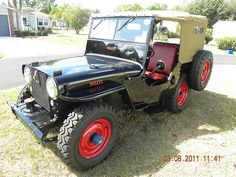 1948 CJ2A | 1948 CJ2A Willys Jeep submitted by Bob Q. | Carl Walck | Flickr