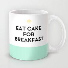 Eat Cake for Breakfast - Kate Spade Inspired Mug