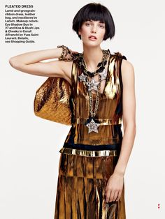Kendra Spears by Patrick Demarchelier for Allure US June 2014