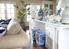 <p>The sheer scale of this jar is breathtaking and impressive, and the classic, hand-painted village scene decorating the face could inspire the design direction for an entire room. Dramatic and soph