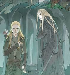 The Story of Thranduil, Legolas and his wife Part 6