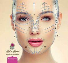 Eyebrow Makeup Tips, Skin Makeup, Facial Cupping, Facial Aesthetics, Face Yoga, Facial Exercises, Face Massage, Face Skin Care, Tips Belleza