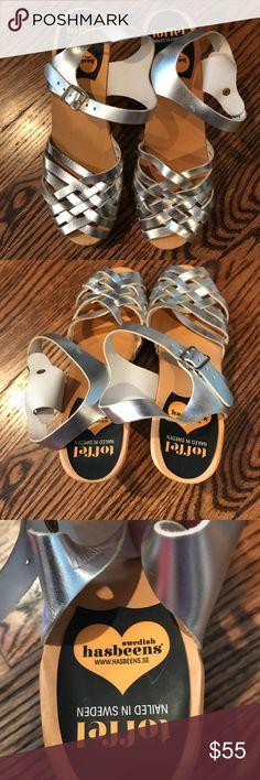Swedish hasbeens- size 39- minimal wear and tear Look like need! Swedish Hasbeens Shoes