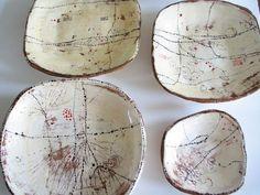 Placas de cerâmica Lari Washburn