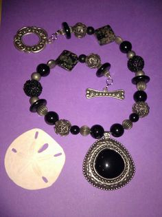Handmade beaded necklace by joannestanley13 on Etsy, $30.00