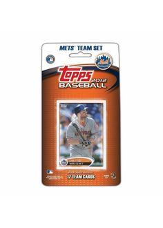 2012 Topps MLB Team Sets - New York Mets